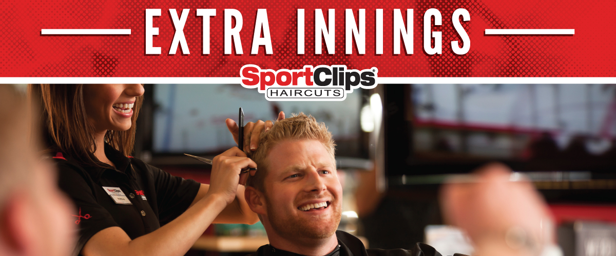 The Sport Clips Haircuts of Oro Valley-Oracle Crossing Extra Innings Offerings